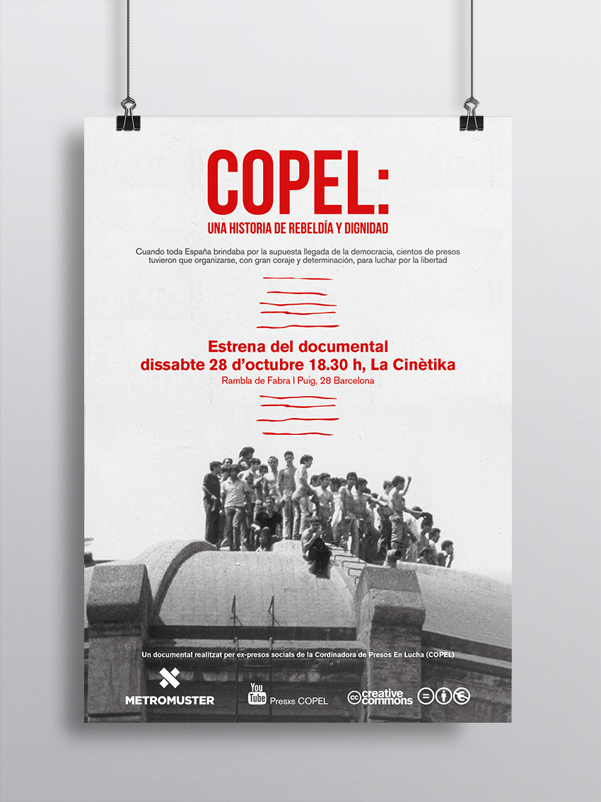 Cartell i DVD documental COPEL